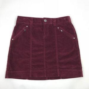Athleta Velvet Mini Stretch Skirt 4 #711